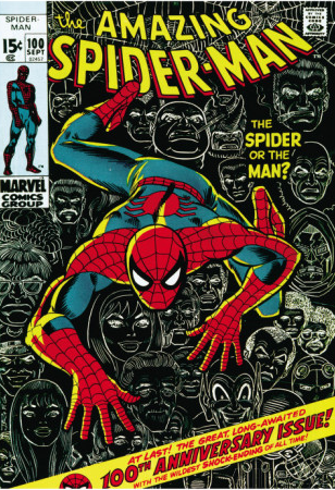 Spiderman comics heaute