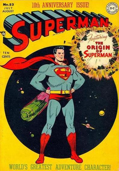 SuperMan zu heaute