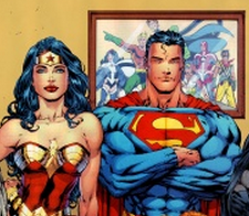 comics on demand superman und wonderwoman